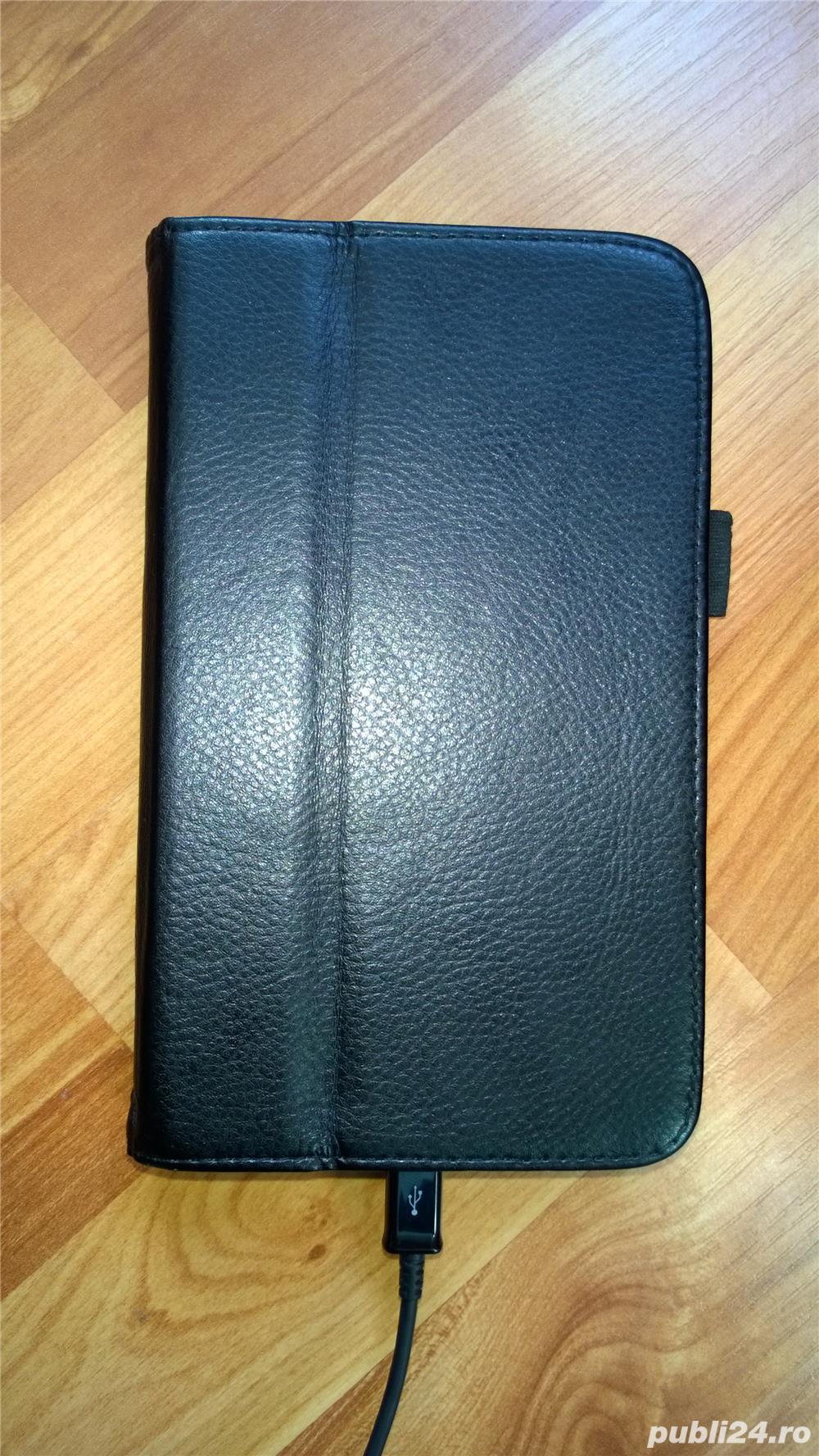 Tableta SAMSUNG T211 + Husa + acumulator + stylus