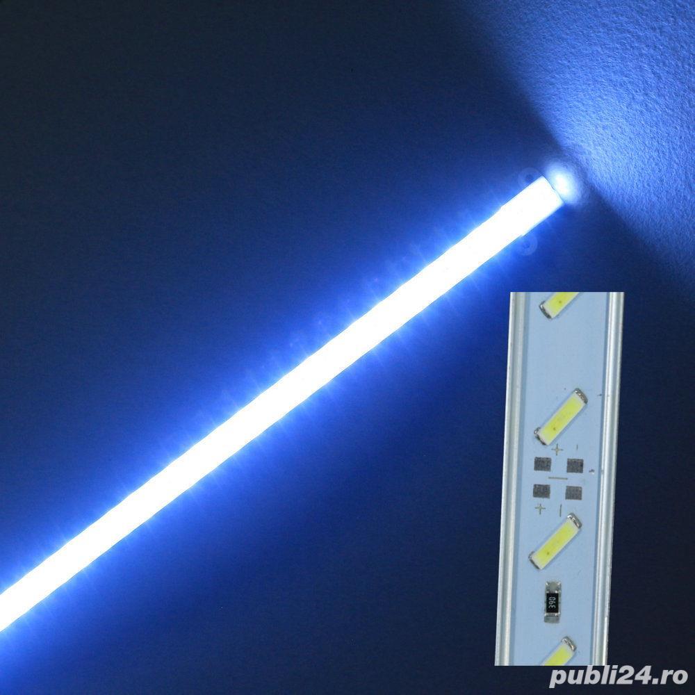 Bagheta Rigida LED 7020 pentru acvariu (rezistenta la apa IP68)+