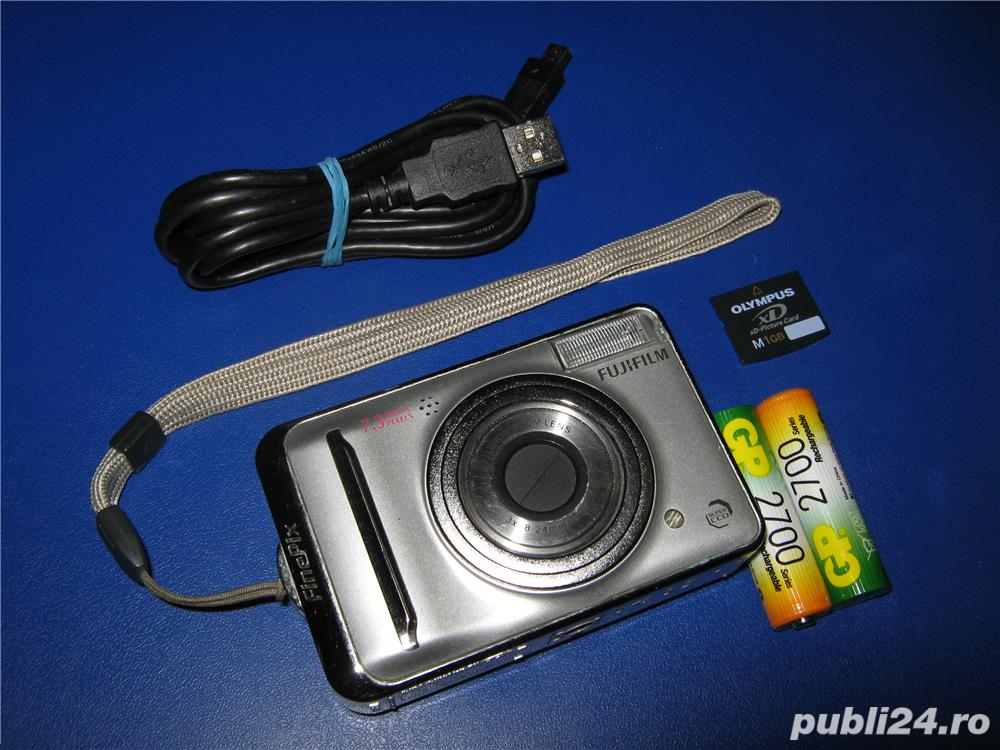 Aparat foto video digital Fujifilm Finepix A700 7.3Mpx
