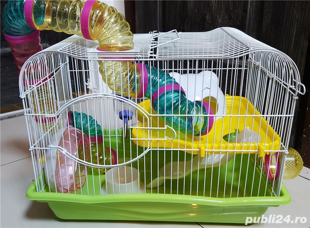 Cusca Pentru Hamsteri, Lux
