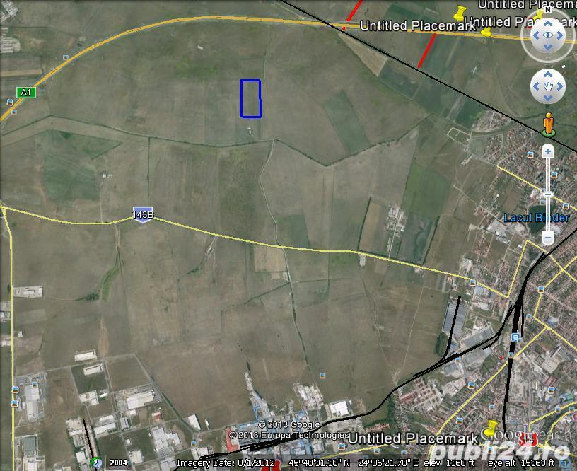 Vand teren in zona Calea Surii Mici 3 ha