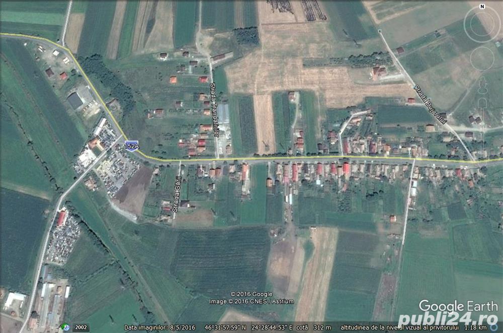 Vanzare  terenuri constructii  680 mp Mures, Sancraiu de Mures  - 17000 EURO