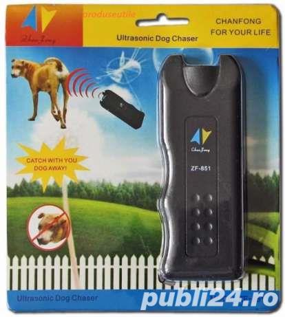 Aparat cu ultrasunete pentru alungat caini