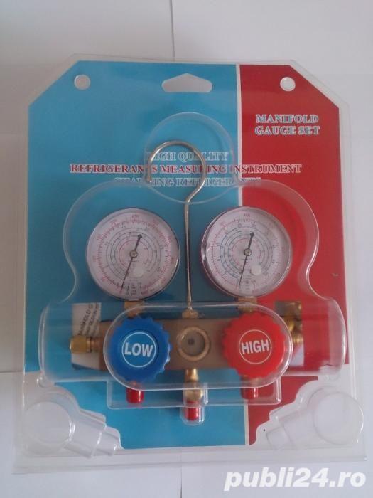 Manometru profesional freon R134A,R410A,R22,R404