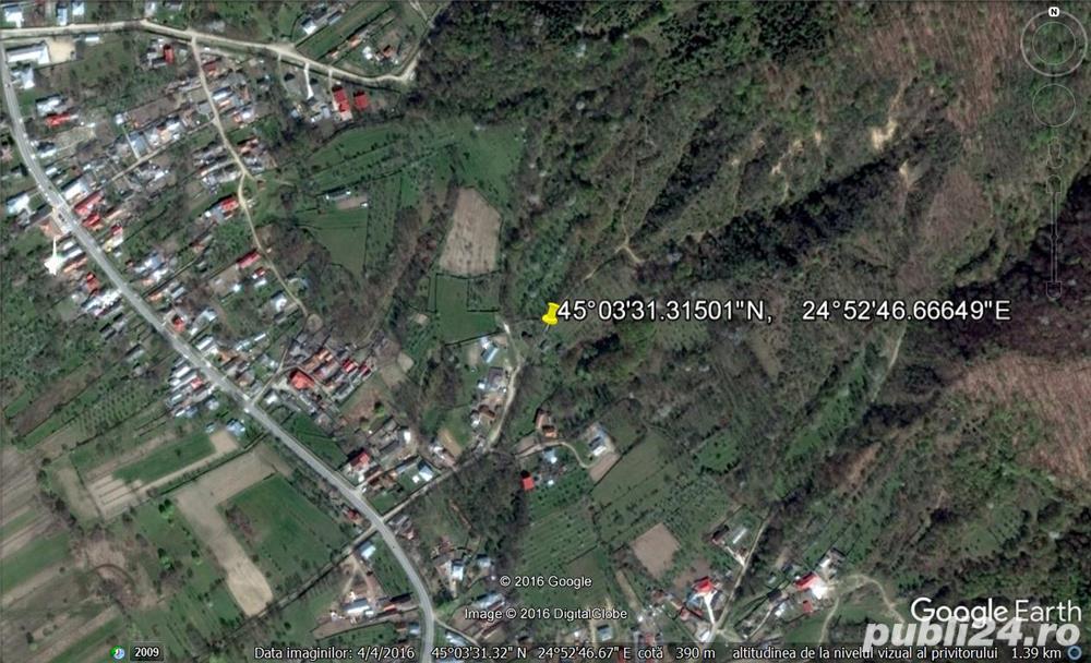 (323) Teren 2000 mp pentru casa de vacanta langa Pitesti