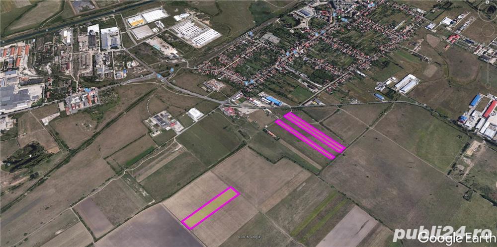 Vand teren 30.000 mp+ 20.000 mp, compact, in Freidorf, zona industriala