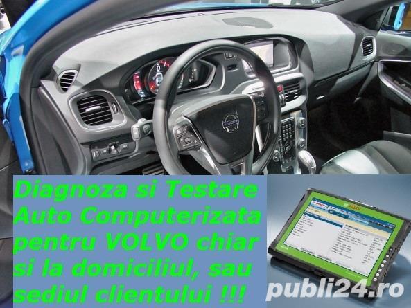 Diagnoza VOLVO testare auto cu tester + reparatii electrica cu deplasare la domiciliu