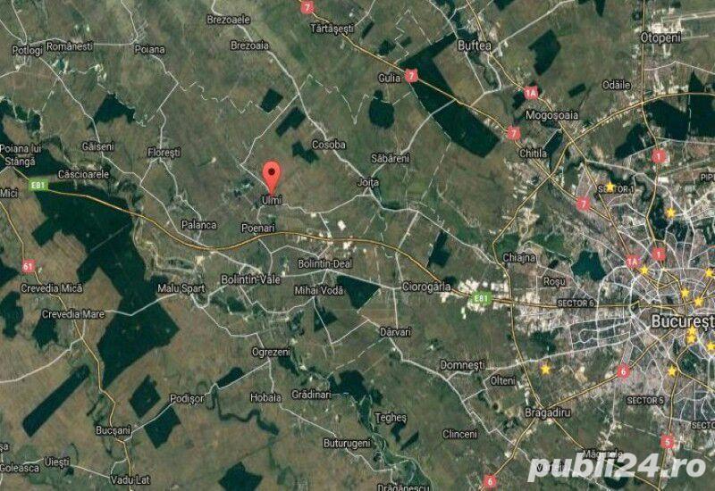 Teren intravilan construibil Bolintin-Ulmi