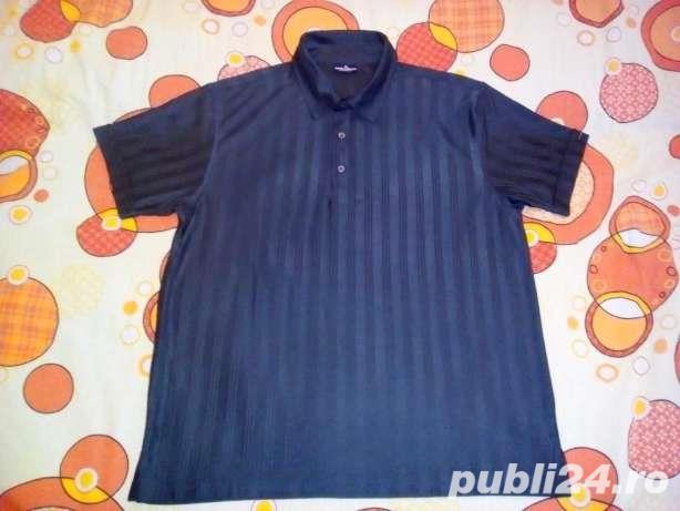 Tricou Tom Tailor Sportswear XL Nou Superb Elegant Gri Inchis.