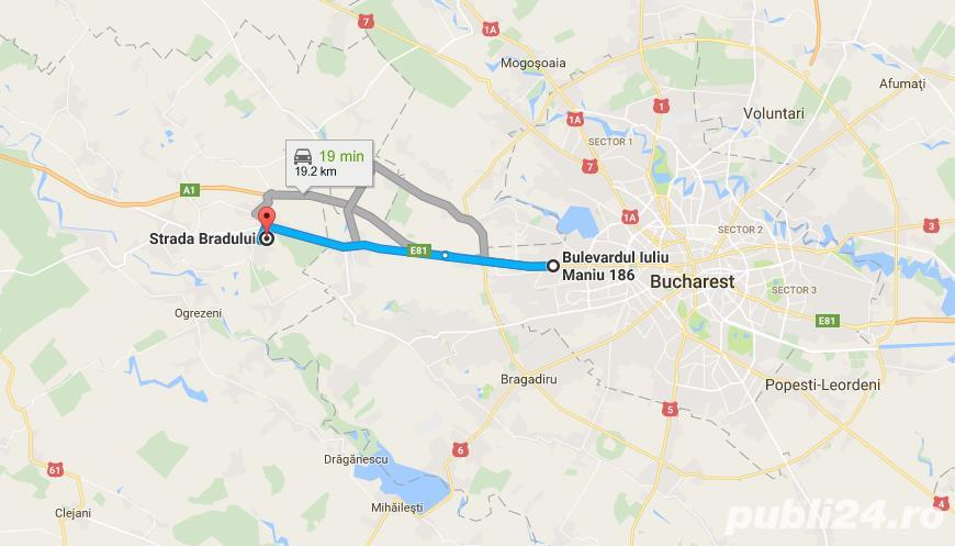 Teren Intravilan 750/1000/1500 mp in Bolintin Deal (Propietar)