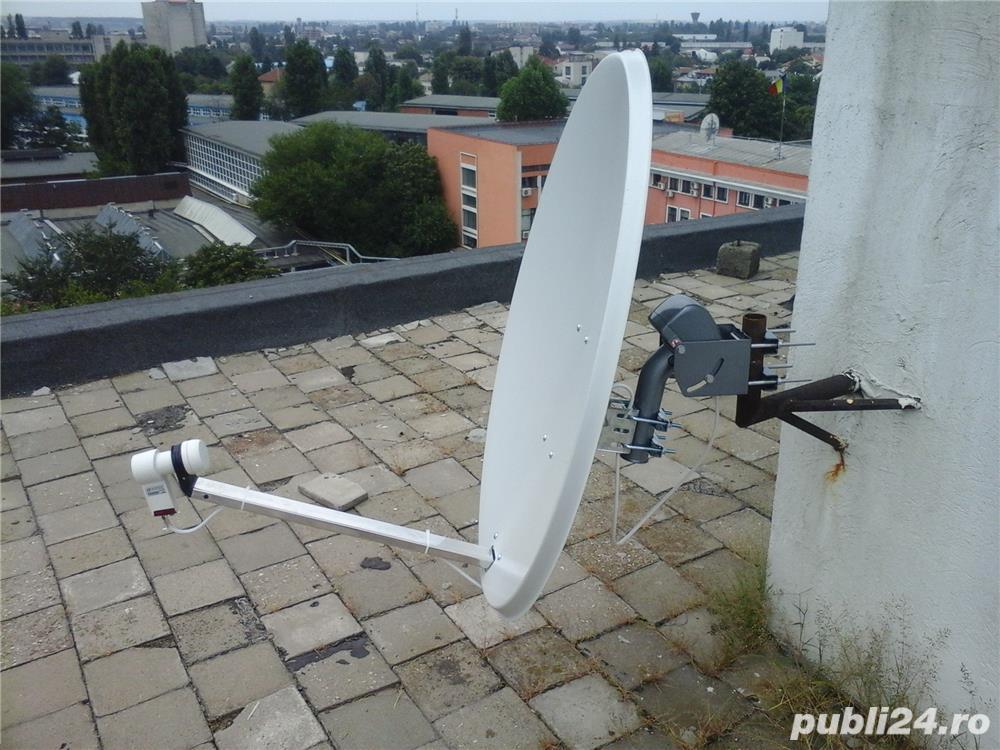 Instalare antene satelit Bucuresti