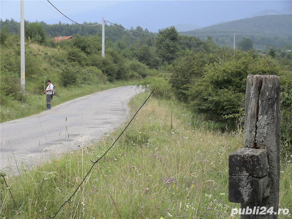 2300mp super teren intravilan cu utilitati, munte,rau,padure,strada asfaltata,zona turistica curata