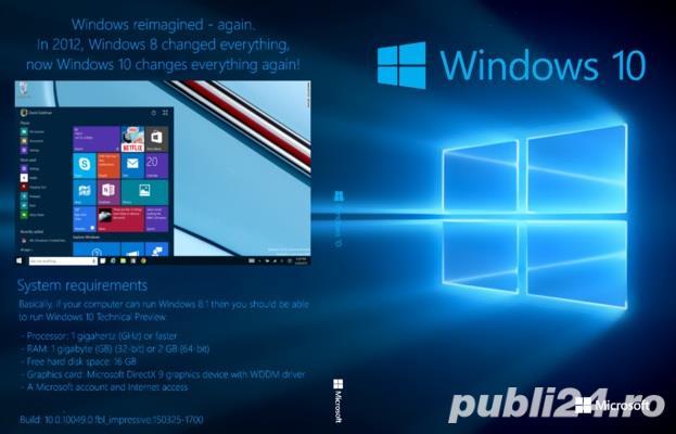 Stik bootabil pen drive cu windows 7/8/8.1/10