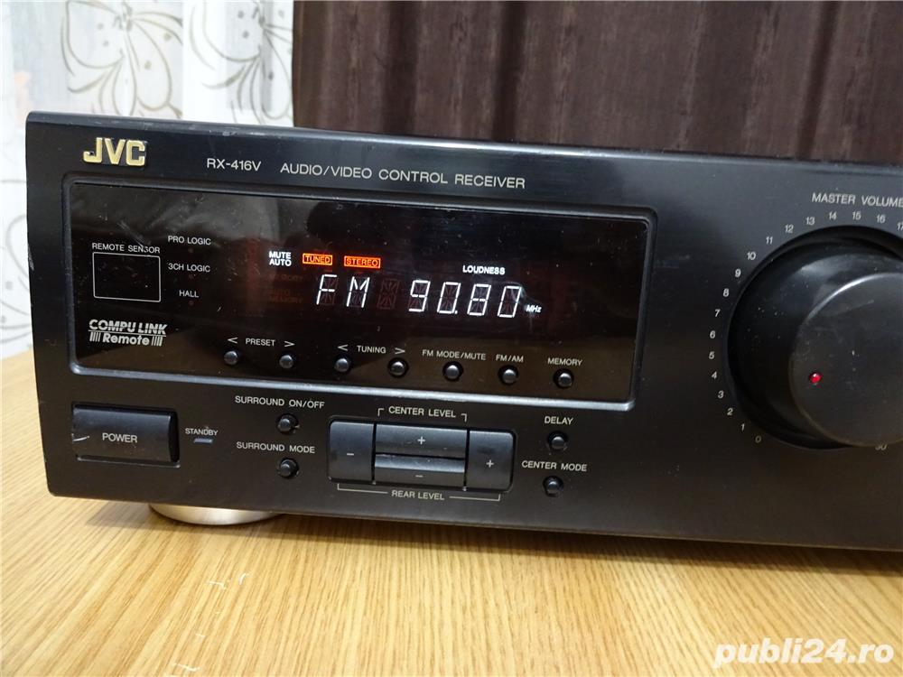 Amplificator receiver JVC, RX-416V, 5.1