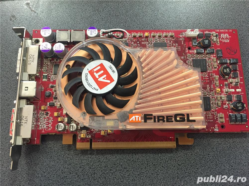 Placa Video ATI FireGL V5100 128MB, PCI-e, 2x DVI