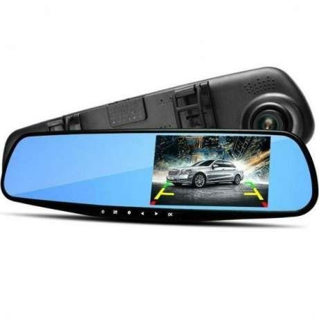 Oglinda auto cu display si 2 camere video FHD