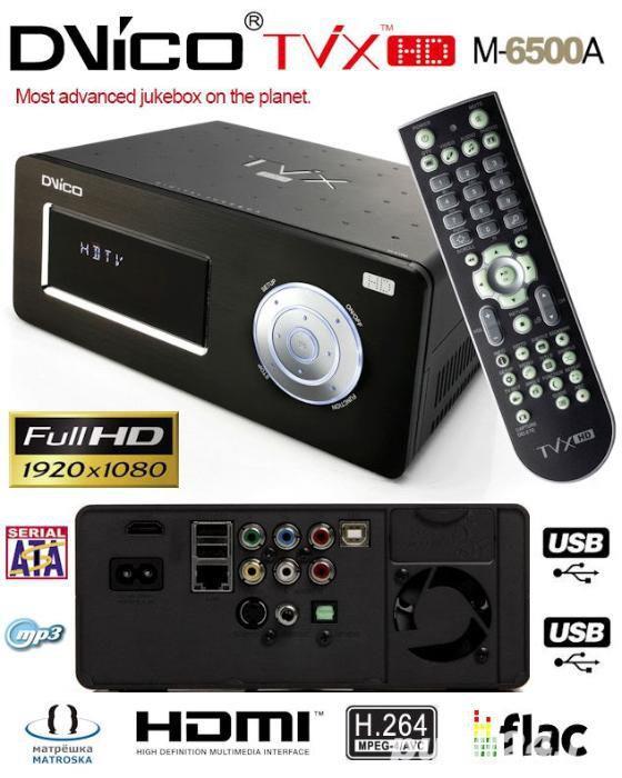 Multimedia Player 1080p FullHD TViX M6500A + Tuner DVB-T + HDD 750Gb Seagate