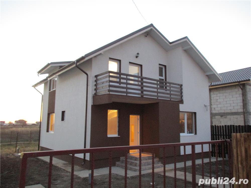 FARA COMISIOANE casa cu 4 camere si 2 bai P+1+pod terasa si camera tehnica cu finisaje LA ASFALT