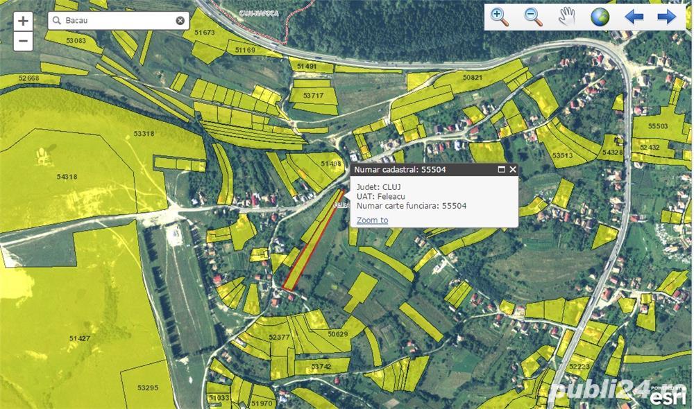 Teren intravilan Feleac,3739 mp,29 Euro/mp,se poate parcela in doua,