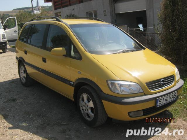 Opel Zafira vand sau schimb cu 4x4