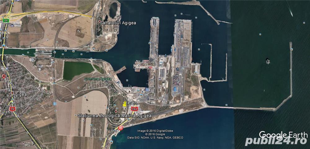 vand teren zona port Constanta Sud ideal logistica cod vt 108