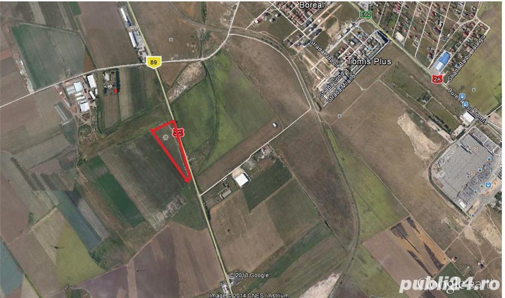 teren de vanzare Constanta varianta ovidiu  cod vt 75