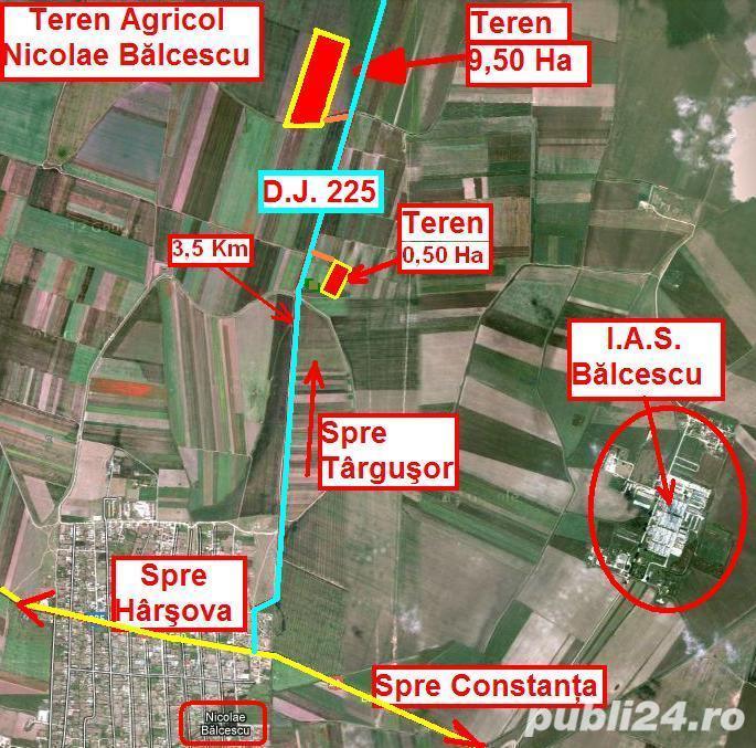 Teren Agricol - 31 Ha = 8 Ha + ( 10 Ha + 13 Ha ) - 12.000 Euro / Ha