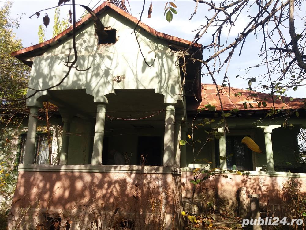 Vand teren casa cu gradina