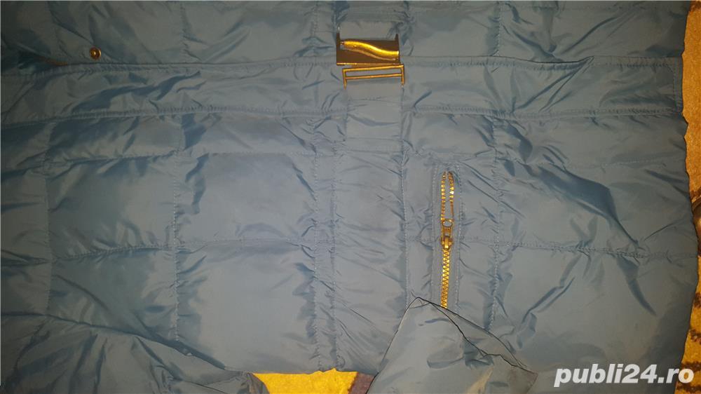 Geaca albastra Tex XL