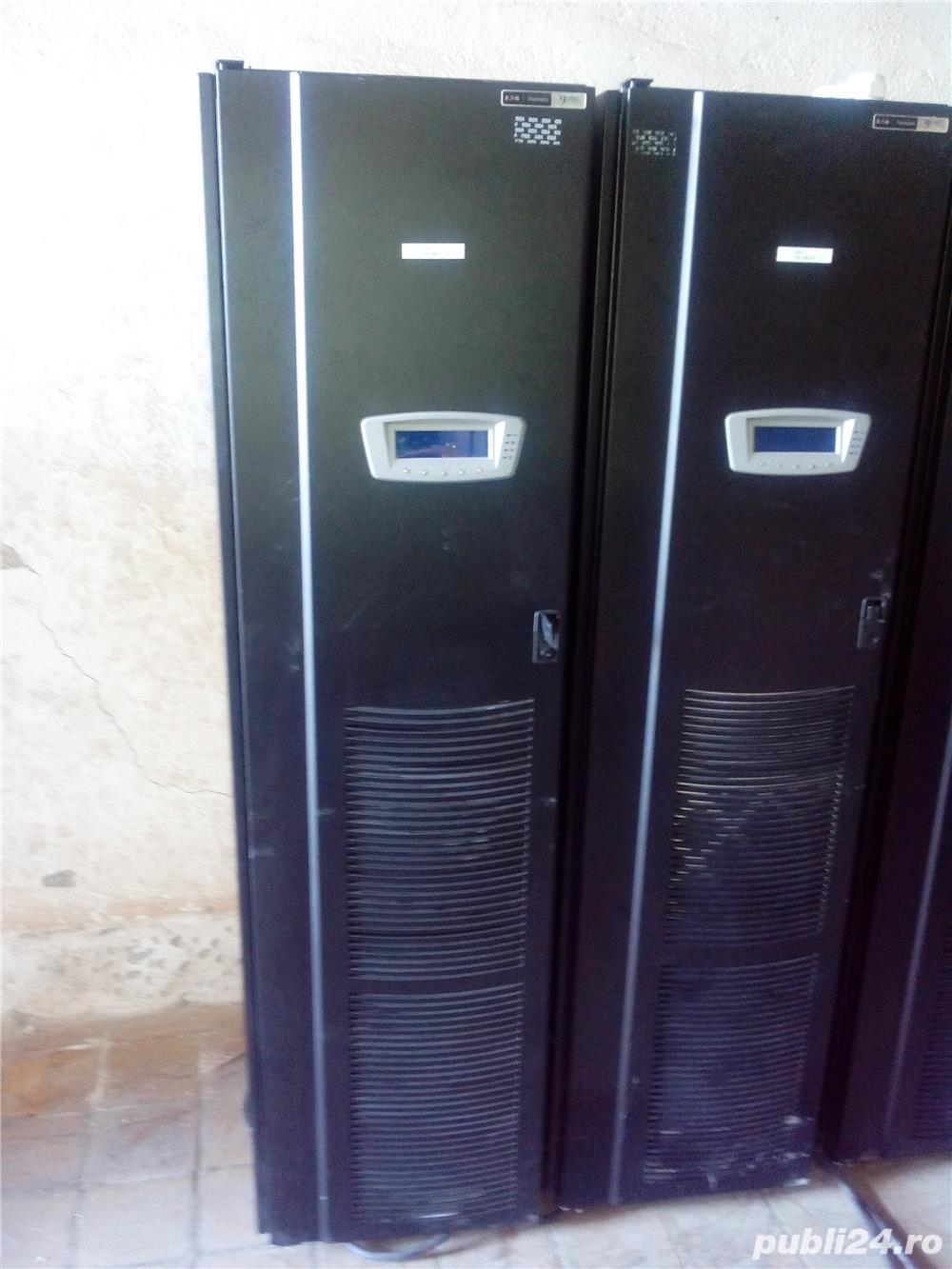 UPS 40kVA ONLINE EATON Powerware 9390, SIN, AVR, trifazat, display.