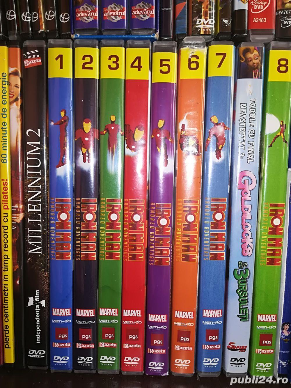 DVD-uri Iron Man dublate in romana