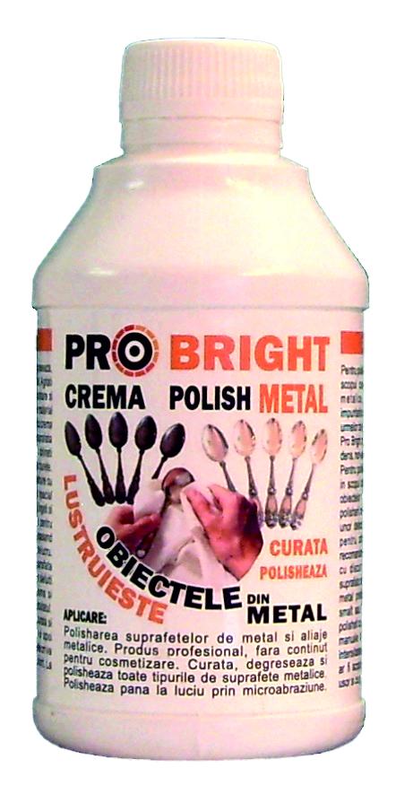 crema polish obiecte din metal  Pro Bright