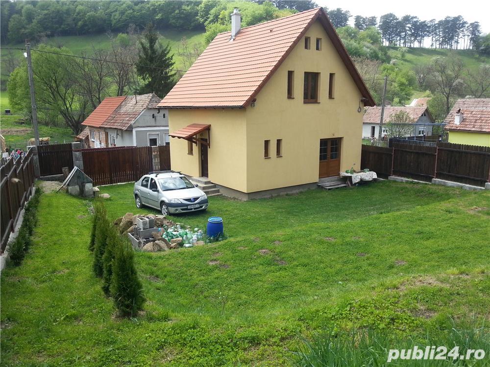 Vand casa de locuit in sat Richis intr-o zona linistita cu aer curat