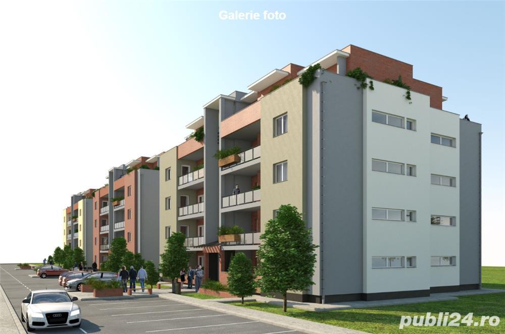 Dezvoltator apartam nou 3 cam cu terasa 71+12 mp la cheie zona Majestic