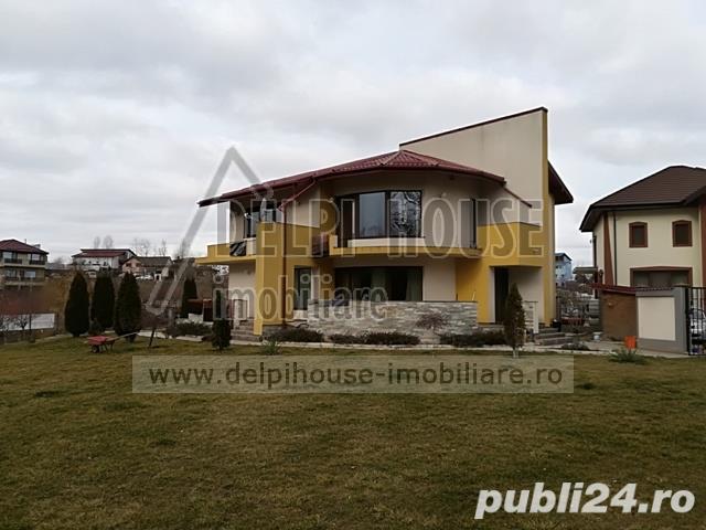 Vila P+1, padure Cernica, 5 camere, 3 bai, lux