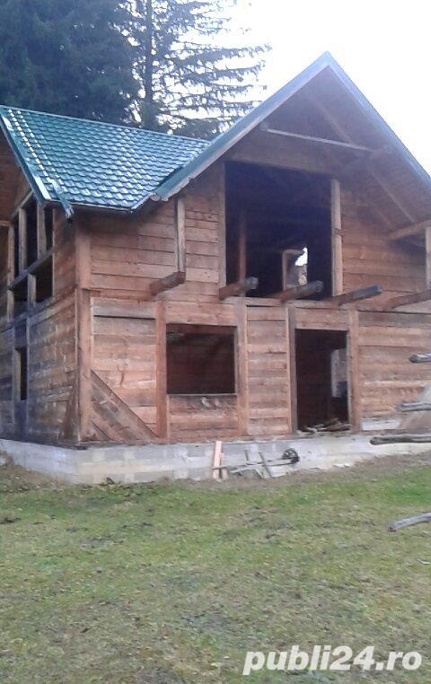 Teren 500 mp + casa in constructie zona Gura Humorului, sat Slatioara, com Stulpicani