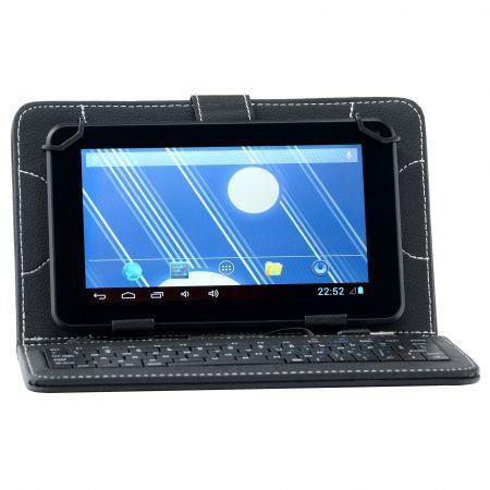 """Vand Husa de protectie Universala A+ Case pentru tableta 7""""cu Tastatura, Black"""