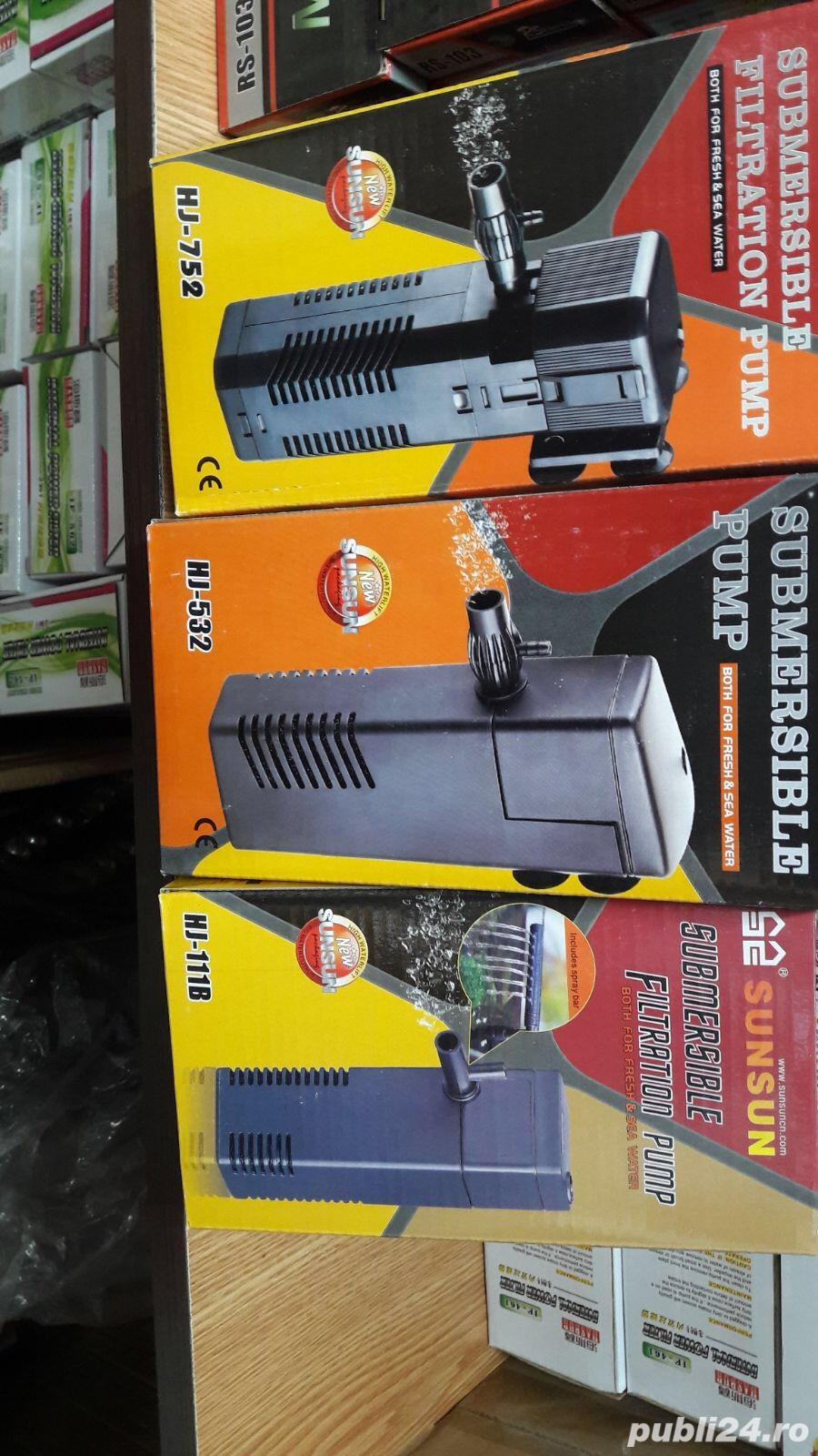 Accesorii -filtre interne, pompe de aer etc