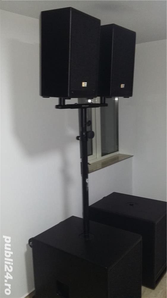 Inchiriez sistem activ/pasiv si lumini ptr orice tip de eveniment