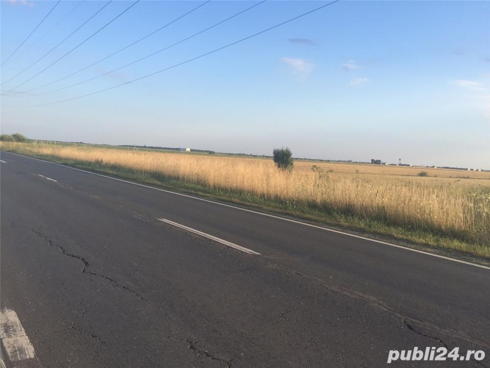 Jud Giurgiu, teren agricol