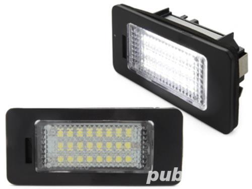 Lampi LED numar Audi A4 B8 A5 Q5 TT A1 A4 Allroad A7 RS5 A6 C7