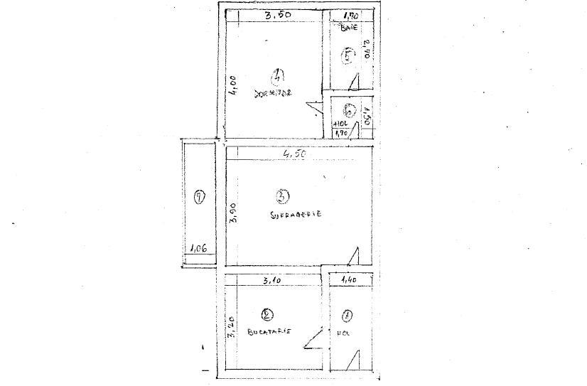 Apartament 2 camere- Giurgiu- 19200 EUR