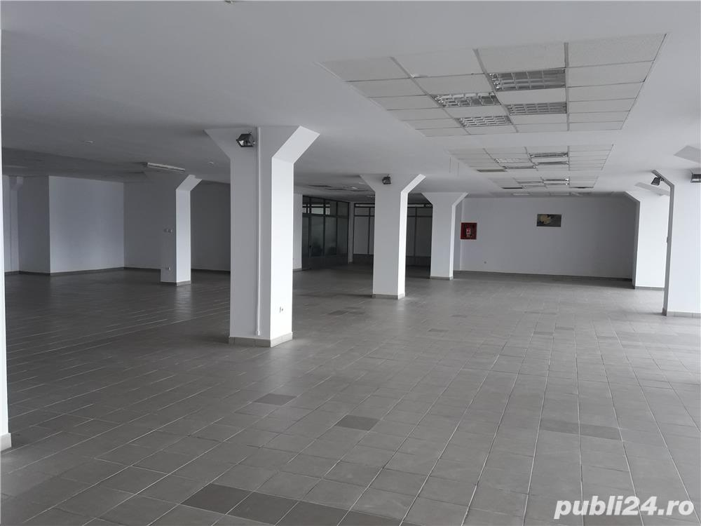 Inchiriere spatiu central, 630 mp, pretabil showroom, productie, etc. Stefanesti, stradal