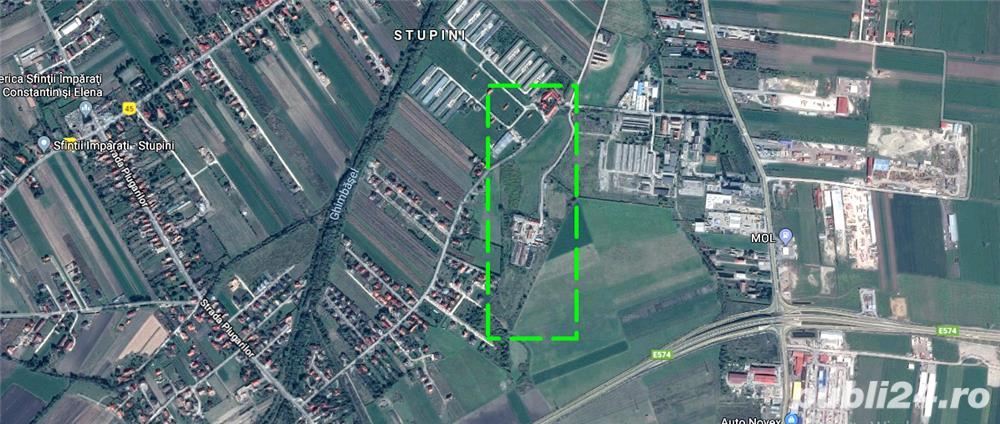 Teren intravilan 7 Ha in Brasov - Stupini.