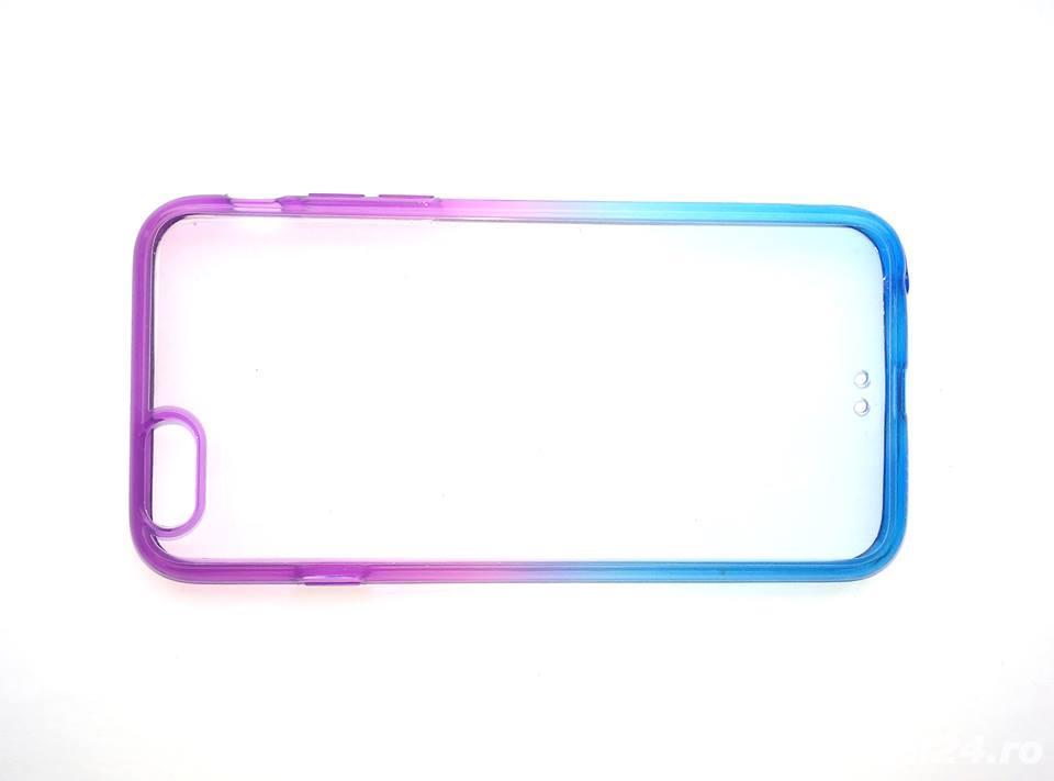 Husa protectie iPhone 6 6s, carcasa, bumper silicon spate telefon, mix culori