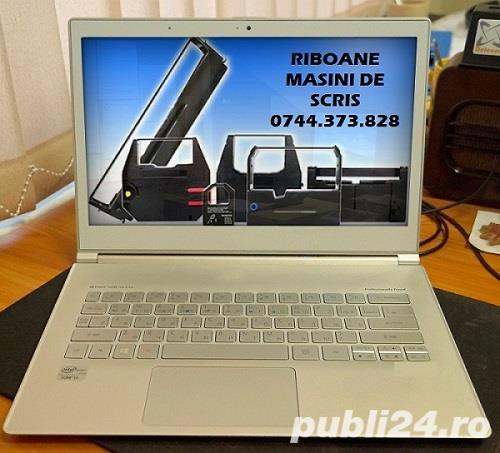 Banda tus masina de scris Panasonic KXR,BrotherAX, Olivetti  Praxis/ETP,  Canon, Robotron, Sharp