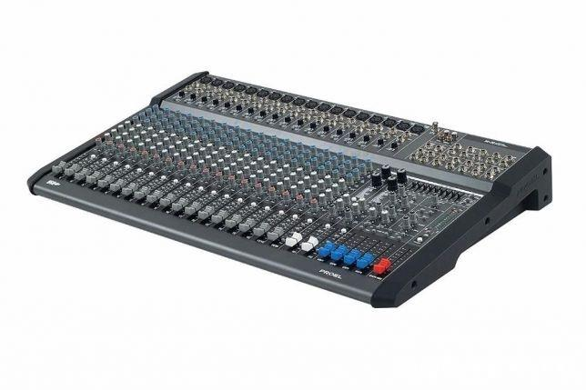 De Vanzare Mixer cu Amplificare Marca Proel M1500USB Mixer Profesional