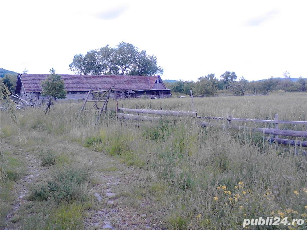 vand teren cu grajd si lac pentru pesti