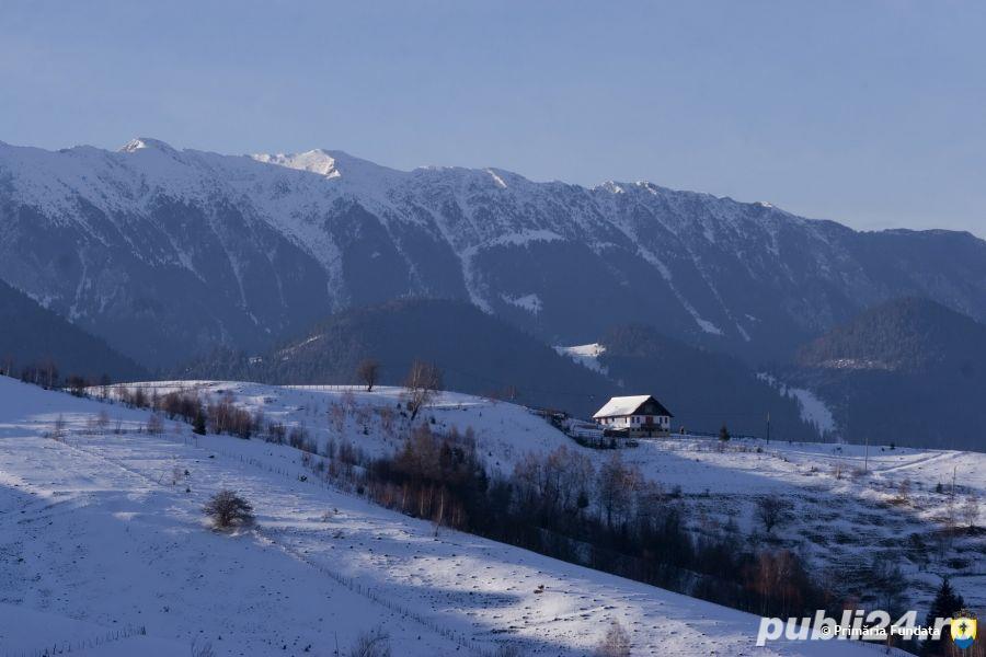 teren ieftin sat Sirnea - comuna Fundata