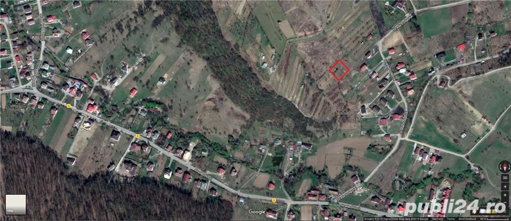 Teren Valea Ghinzii Bistrita